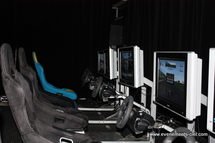 simulateur de course - raceseat (Playseat) l'animation virtuelle de pilotage sur formule 1 et rallye  (simulateur Playseat)