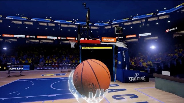 simulateur de basket ball