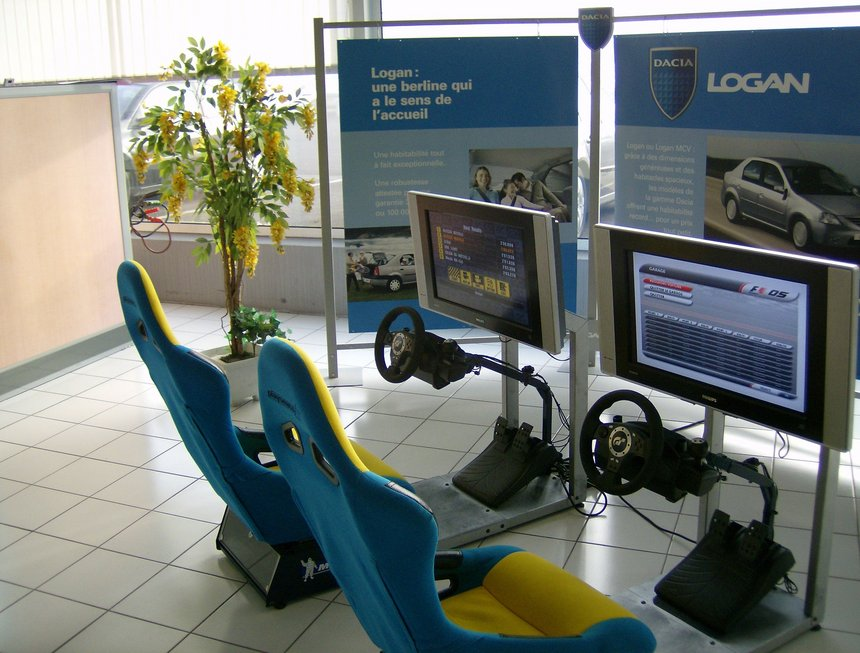 simulateur de course - Playstation l'animation virtuelle de pilotage sur formule 1 et rallye  (simulateur Playseat ou raceseat), Organisation d'évènements, Moselle, Grand Est, Luxembourg