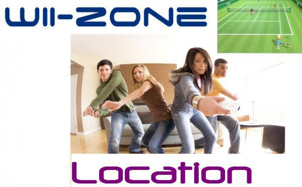 "Wii Zone -  Consoles ""WII"" et kinect : animation interactive ! SOIREE - TEAMBUILDING - SALONS - ROADSHOW"